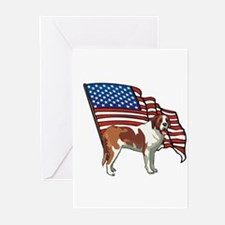 USA SAINT BERNARD Greeting Cards (Pk of 10)