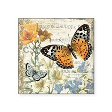 modern vintage butterfly Sticker