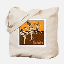 Karate (Vintage Look) Tote Bag