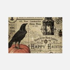 Modern vintage Halloween Magnets