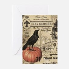 Modern vintage Halloween Greeting Cards