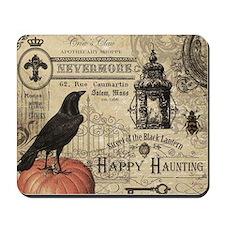 Modern vintage Halloween Mousepad