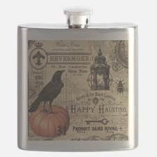 Modern vintage Halloween Flask