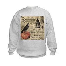 Modern vintage Halloween Sweatshirt
