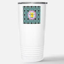 Monogrammed Whimsical O Travel Mug