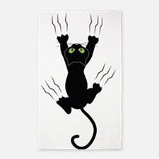 Cat Scratching 3'x5' Area Rug