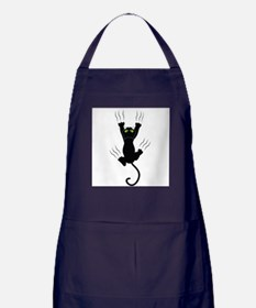 Cat Scratching Apron (dark)