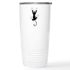 Cat Scratching Travel Mug