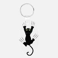 Cat Scratching Keychains