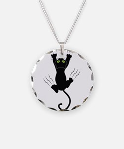 Cat Scratching Necklace