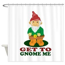 Gnome Me Shower Curtain
