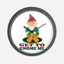 Gnome Me Wall Clock
