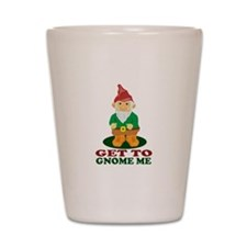 Gnome Me Shot Glass