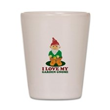 Love Gnome Shot Glass