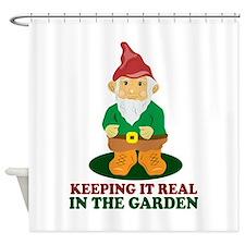 Garden Gnome Shower Curtain