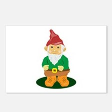 Lawn Gnome Postcards (Package of 8)