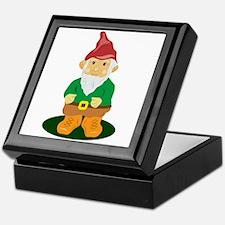 Lawn Gnome Keepsake Box