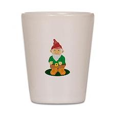 Lawn Gnome Shot Glass