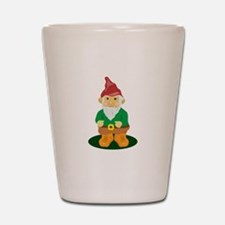 Lawn Gnome Shot Glass