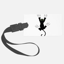 Cat Scratching Luggage Tag