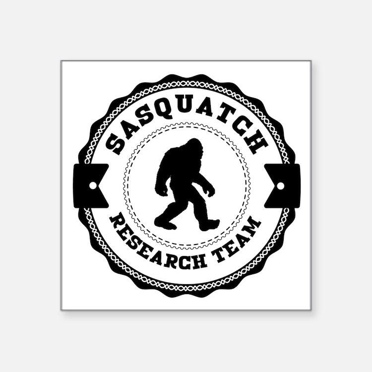 Sasquatch Research Team Sticker
