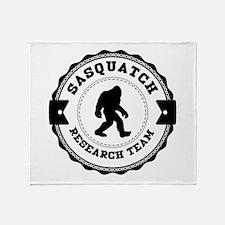 Sasquatch Research Team Throw Blanket