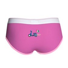 Italian Scooter Vespa Motorcycle Women's Boy Brief