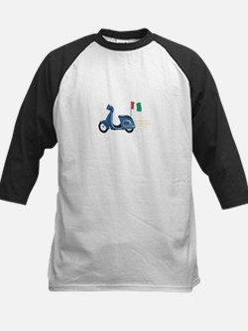 Italian Scooter Vespa Motorcycle Baseball Jersey