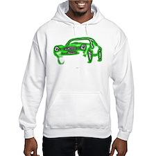 Mean Green Machine Hoodie