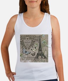 Vintage French Eiffel Tower Tank Top