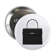 "Black Handbag Purse 2.25"" Button (10 pack)"