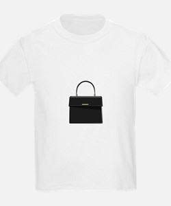 Black Handbag Purse T-Shirt