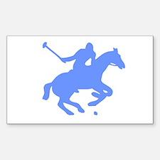 POLO HORSE Sticker (Rectangle 10 pk)
