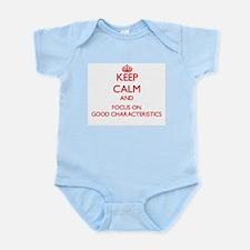 Keep Calm and focus on Good Characteristics Body S