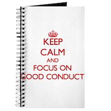 Unique Good conduct Journal