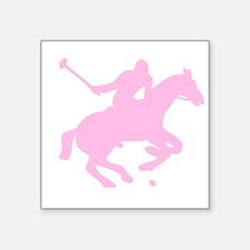 """POLO HORSE Square Sticker 3"""" x 3"""""""