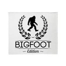 Bigfoot Edition Throw Blanket