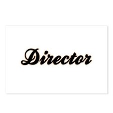 Director Baseball Postcards (Package of 8)