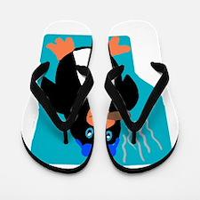 Unique Eric Flip Flops