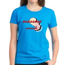 Paraguay Map Tee