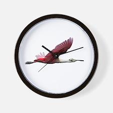 Spoonbill Wall Clock