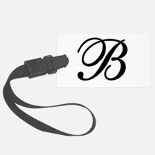 INITIAL B MONOGRAM Luggage Tag