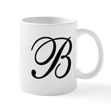 INITIAL B MONOGRAM Mug