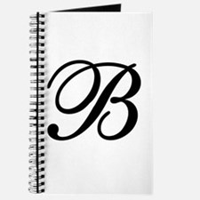 INITIAL B MONOGRAM Journal