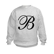 INITIAL B MONOGRAM Sweatshirt