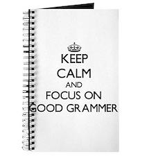 Cute Grammer Journal