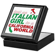 Italian Girls In California Keepsake Box