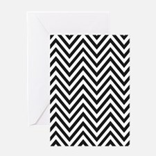 Curved Lines Greeting Cards