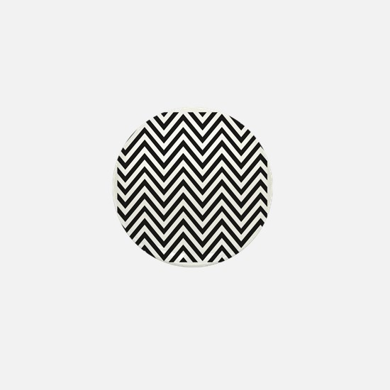 Curved Lines Mini Button