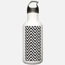Curved Lines Water Bottle